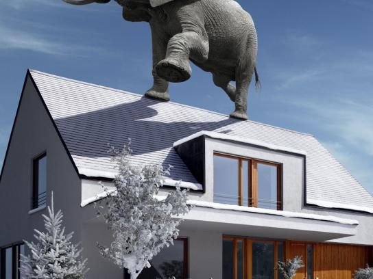 Allianz Print Ad -  Elephant