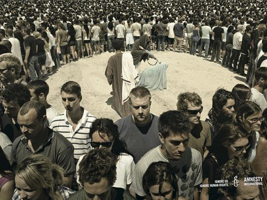 Amnesty International Print Ad -  Public execution