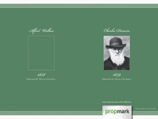 Propmark Print Ad -  Chales Darwin