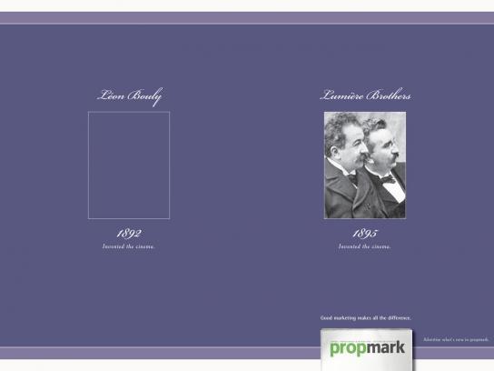 Propmark Print Ad -  Lumiere