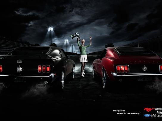 Mustang Meeting Print Ad -  Go