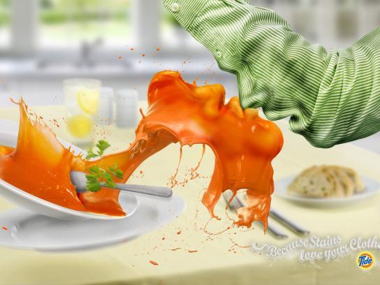 Tide Print Ad -  Soup