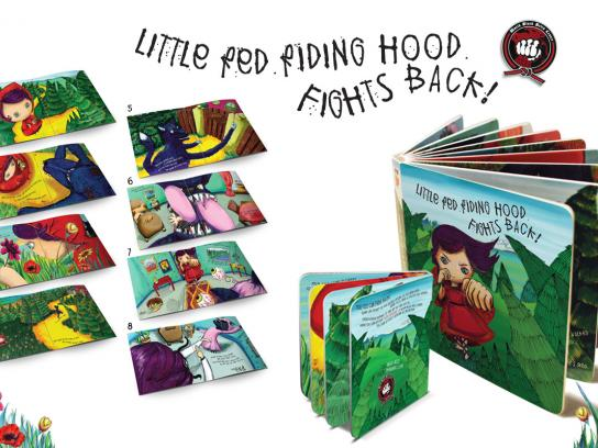 World Black Belts Center Direct Ad -  Little Red Riding Hood Fights Back