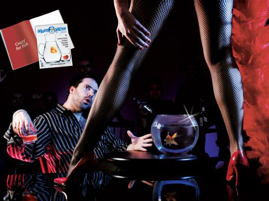 AquaMagazine Print Ad -  Crazy for Fish, 3