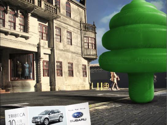 Subaru Print Ad -  Tree
