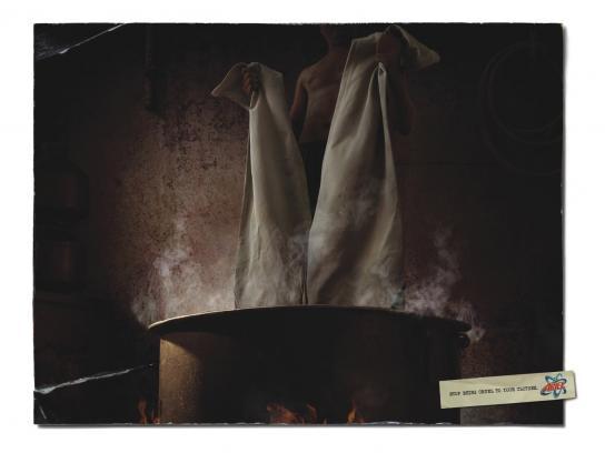 Ariel Print Ad -  Torture, 3