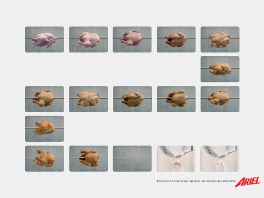 Ariel Print Ad -  Chicken