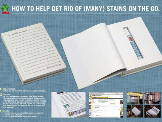 Ariel Ambient Ad -  Book