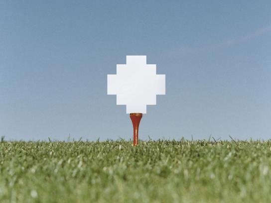 Atari Print Ad -  Golf