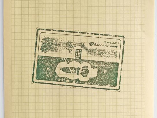 Banco AV Print Ad -  Missile