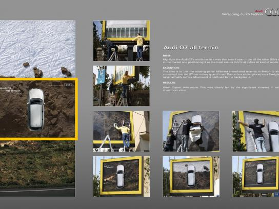 Audi Outdoor Ad -  All terrain