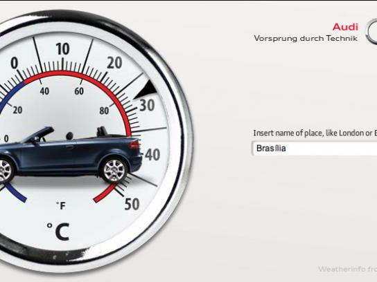 Audi Digital Ad -  Is The Weather Cabriolet Friendly?