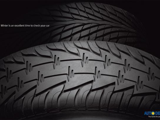 Auto Depot Print Ad -  Winter check 2010