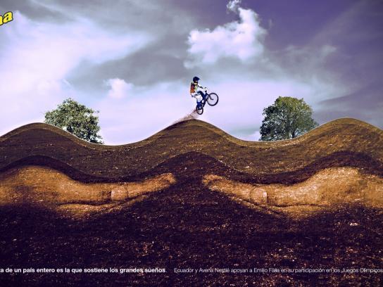 Nestle Print Ad -  Hope