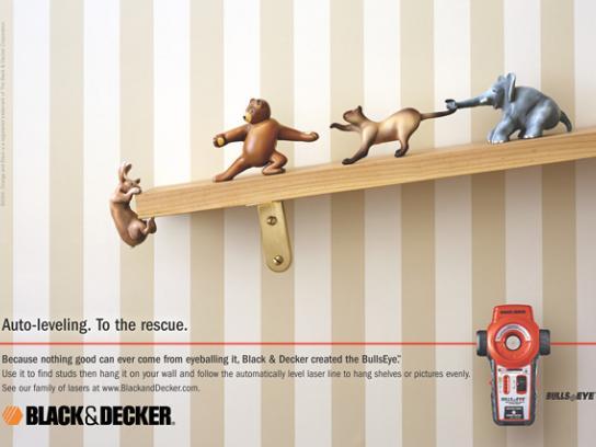 Black&Decker Print Ad - Black&Decker bullseye