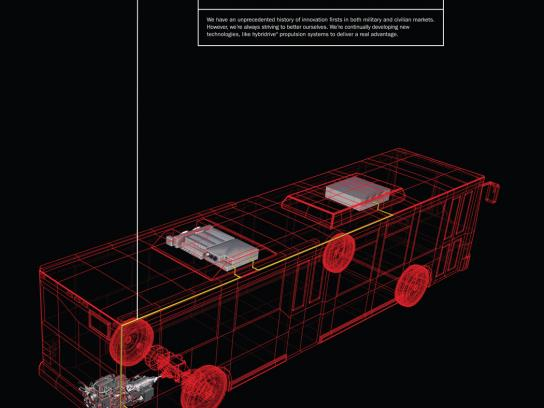 BAE Systems Print Ad -  Hybridrive