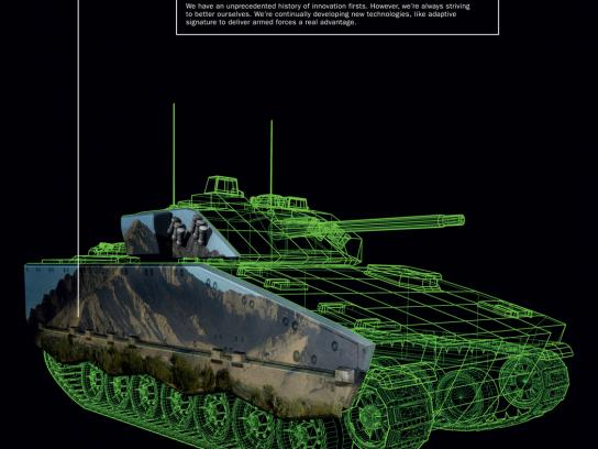 BAE Systems Print Ad -  Land vehicles