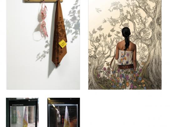 Singapore Art Show Print Ad -  Sarong