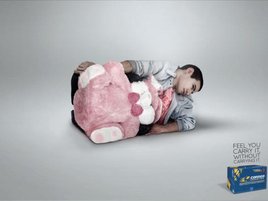Correo Argentino Print Ad -  Bear