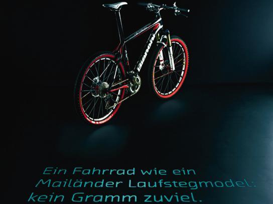 Bianchi Print Ad -  Model