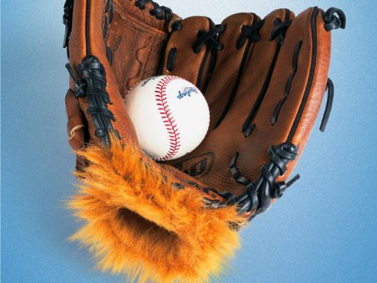 Toronto Blue Jays Print Ad -  Glove