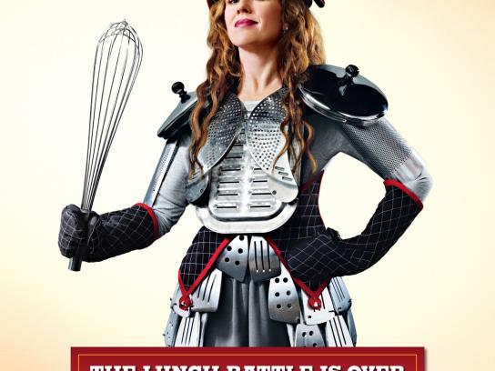 Burger King Print Ad -  Warrior mums, 1
