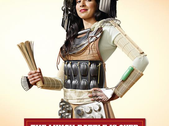 Burger King Print Ad -  Warrior mums, 2