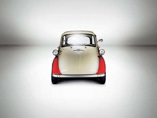 BMW Print Ad -  1955