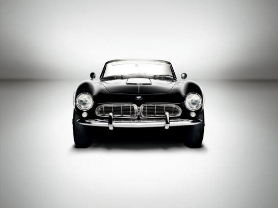 BMW Print Ad -  1956