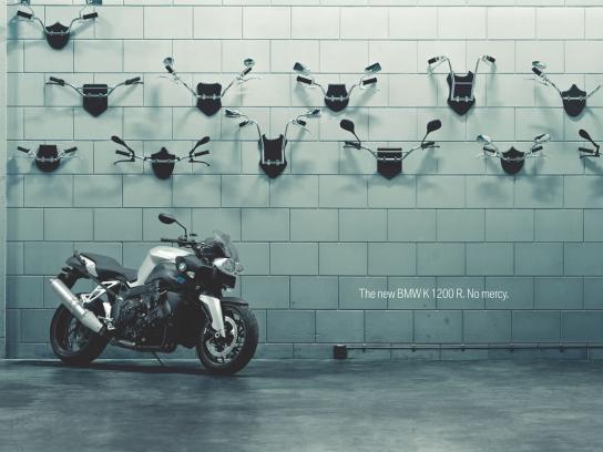 BMW Print Ad -  No mercy