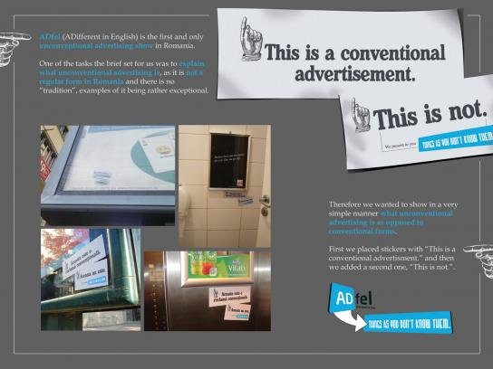 ADfel Ambient Ad -  What is unconventional advertising?