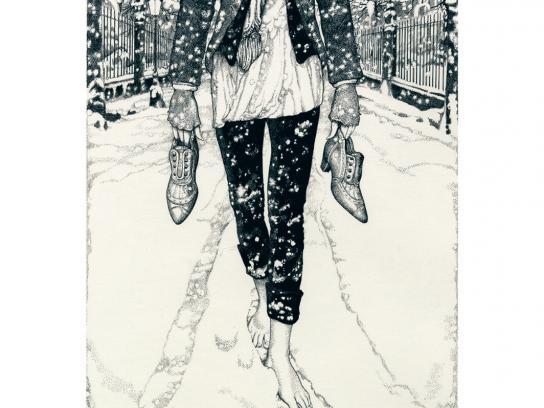 Bocage Print Ad -  Snow