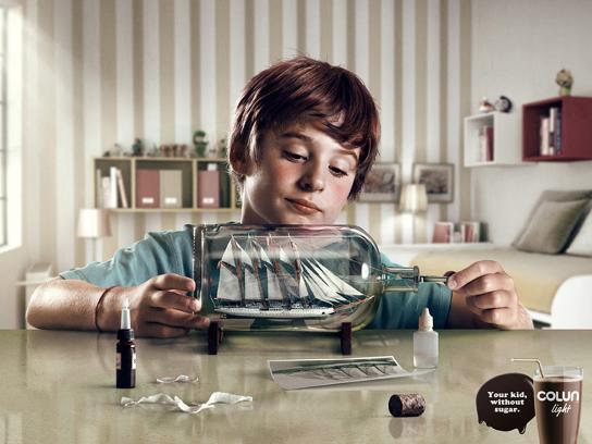 Colun Print Ad -  Bottle
