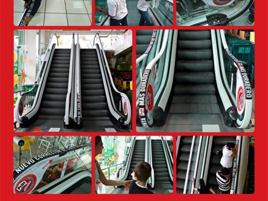 Pritt Ambient Ad -  Escalator