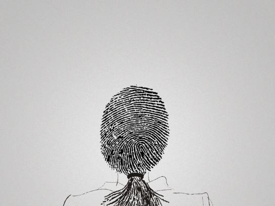 Bubbles Print Ad -  Fingerprint, 1