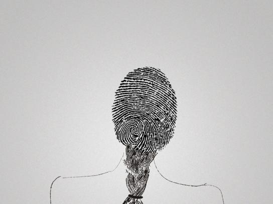 Bubbles Print Ad -  Fingerprint, 2
