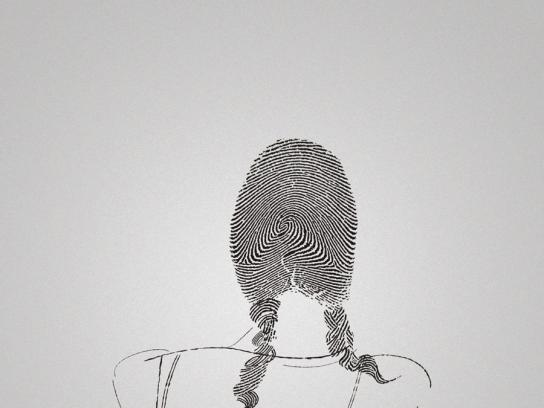 Bubbles Print Ad -  Fingerprint, 3