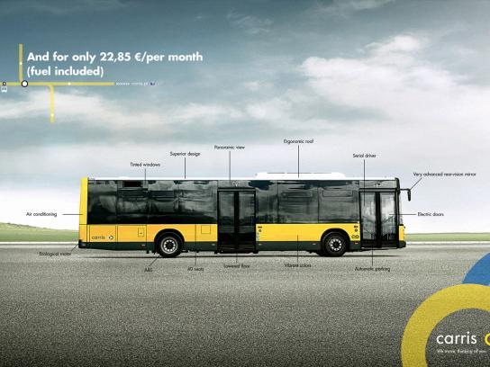 Carris Print Ad -  Bus