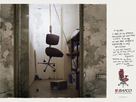 BAFCO Print Ad -  Hang