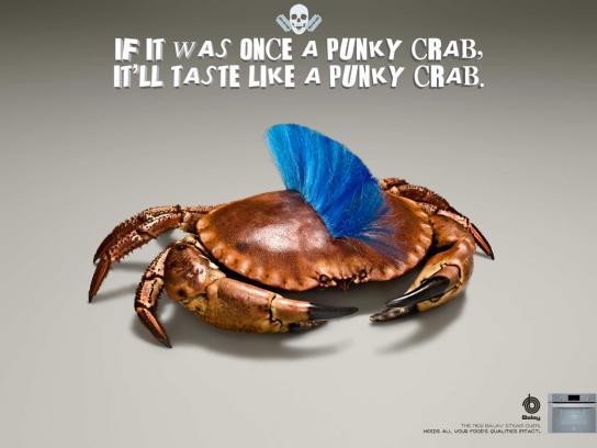 Balay Print Ad -  Crab