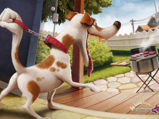 Coaching-canin.com Print Ad -  Barbecue
