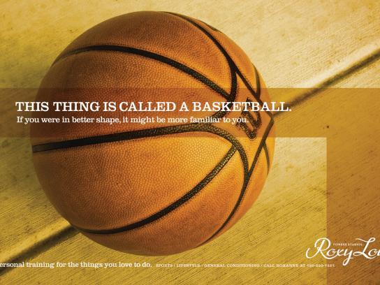 Roxy Lou Print Ad -  Basketball