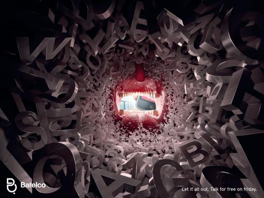 Batelco Print Ad -  Let it all out, English