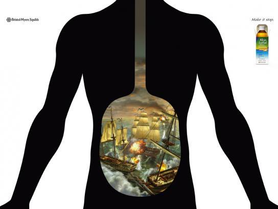 Alca-Luftal Print Ad -  Battleship