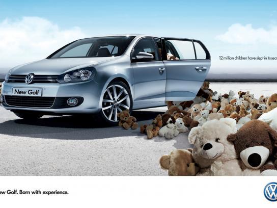 Volkswagen Print Ad -  Bears