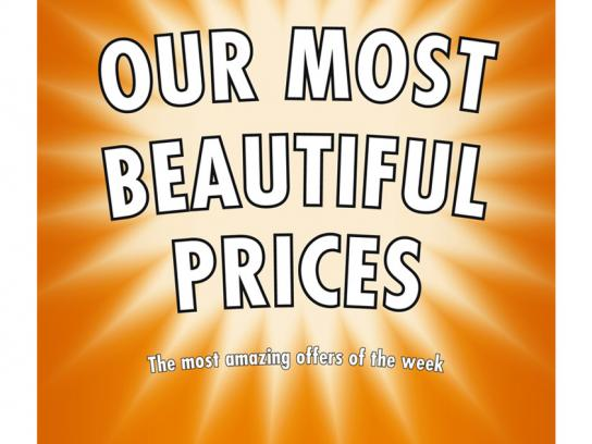 Our most beautiful prices, 1