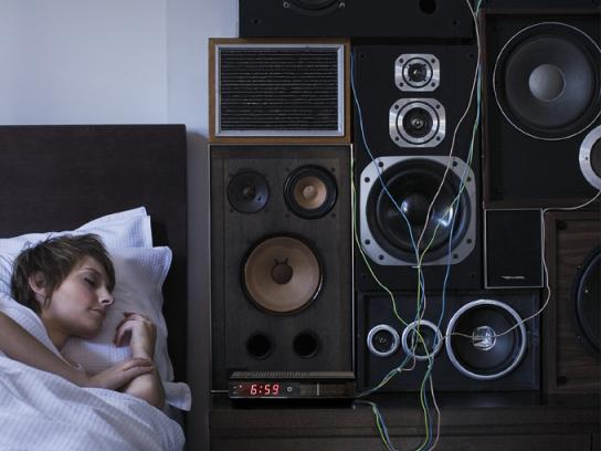 Bedshed Print Ad -  Speakers