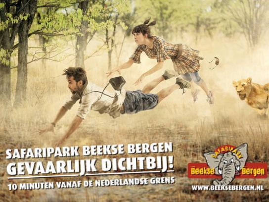 Beekse Bergen Print Ad -  Hunt