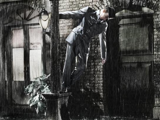 Beko Print Ad -  Singin' in the rain