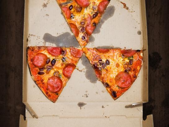 Tabasco Print Ad -  Pizza